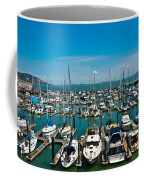Boats At Bay Coffee Mug