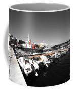 Boats At Brindisi Coffee Mug