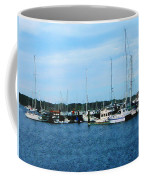 Boats At Newport Ri Coffee Mug