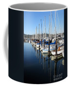 Boats At Rest. Sausalito. California. Coffee Mug