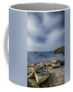Boats At The Lizard Coffee Mug