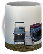 Boats By The Dock Coffee Mug