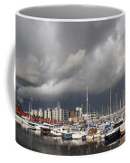 Boats In A Marina Coffee Mug