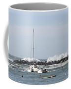 Boats In A Port Coffee Mug