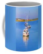 Boats In A Row Coffee Mug