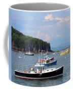Boats In Bar Harbor Coffee Mug
