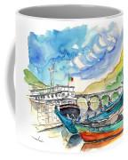 Boats In Barca De Alva 02 Coffee Mug