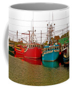Boats In Branch Marina-nl Coffee Mug