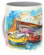 Boats In Ericeira In Portugal Coffee Mug