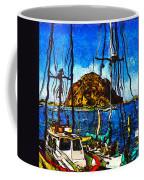 Boats Of Morro Bay Coffee Mug