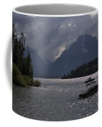 Boats On Jackson Lake - Grand Tetons Coffee Mug