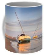 Accidentally - Boats On The Beach Coffee Mug