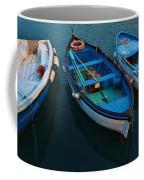 Boats Trio Coffee Mug