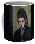 Bob Dylan Portrait In Colored Pencil  Coffee Mug