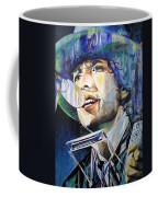 Bob Dylan Tangled Up In Blue Coffee Mug by Joshua Morton