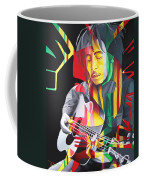 Bob Marley And Rasta Lion Coffee Mug