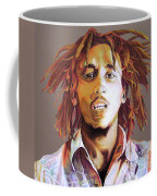 Bob Marley Earth Tones Coffee Mug
