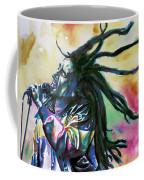Bob Marley Singing Portrait.1 Coffee Mug