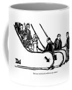 Bob Was Raised In The Wilderness By Salmon Coffee Mug by Drew Dernavich