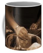 Bobbin Lace At Old Rauma Coffee Mug