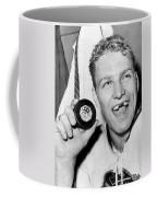Bobby Hull Scores 50th Goal Coffee Mug