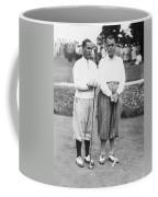 Bobby Jones At Pebble Beach Coffee Mug