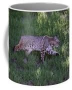 Bobcat On The Move Coffee Mug
