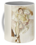 Bobette Lying Down Bobette Allongee Coffee Mug