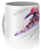 Bode Miller And Statistics Coffee Mug