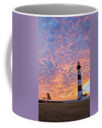 Bodie Island Lighthouse At Sunrise Vetical Coffee Mug