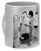 Body Wrap Exercise Coffee Mug