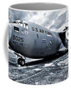Boeing C-17 Airplane Coffee Mug