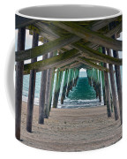 Bogue Banks Fishing Pier Coffee Mug