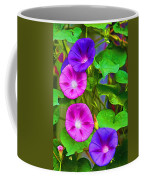 Bohemian Garden Morning Glory Coffee Mug
