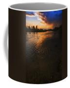 Boise River Dramatic Sunset Coffee Mug