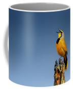 Bokmakierie Bird Calling Coffee Mug
