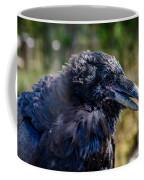 Bold And Demanding Raven Coffee Mug