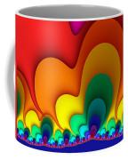 Bold Colors Fractal Coffee Mug