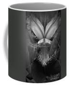 Bold Iris Bw Coffee Mug