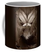 Bold Iris Sepia Coffee Mug