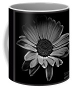 Bold Monochrome Daisy Coffee Mug