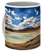 Bolivia Lagoon Clouds Framed Coffee Mug