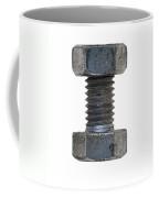 Bolt With Nut Coffee Mug