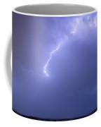 Bolts Of Lightning Arcing Through The Night Sky Coffee Mug