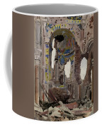 Bombed Out Interior Of Albert Church Coffee Mug by Ernest Proctor