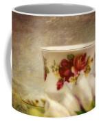 Bone China Teacup And Foxgloves Coffee Mug