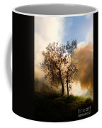 Bonfire And Olive Tree Coffee Mug
