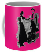 Bonnie Parker Aiming Rifle At Clyde Barrow March 1933 Coffee Mug