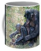 Bonobo Adult Tickeling Juvenile Coffee Mug