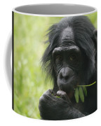 Bonobo Eating Coffee Mug